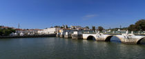 Panoramic image of Tavira by Louise Heusinkveld