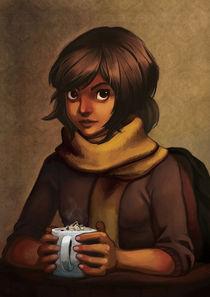 Hot chocolate by Luisa Rafidi