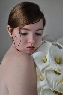 Portrait of a Bride von Lindsay Happ
