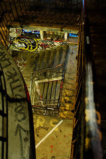 Stairwell by Marco Moroni