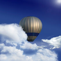 balloon in the clouds by Miro Kovacevic