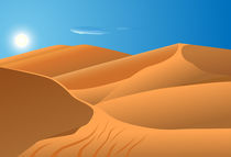 desert dunes by Miro Kovacevic