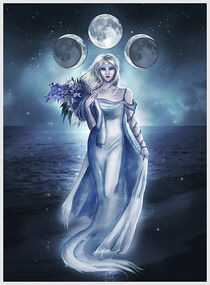 The Moon Goddess by Linda Kindt