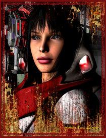 Cyber Girl by Ken Leamy