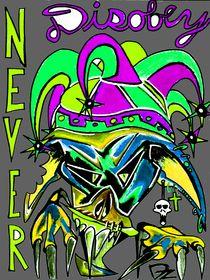 NEVER disobey_Green and purple von dave-dz