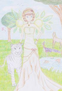 Celeste loves Earth von Joyce Lam
