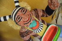 Jolly Pueblo Kachina by Kelsi Clayton