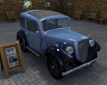 Austin Seven Ruby -1 by kxl exk