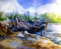 Boats-watercolors-on-paper-dec-2009