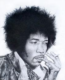Jimi Hendrix by John Lanthier