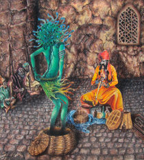 Snake-charmer-pastels-on-paper-feb-2010
