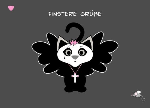 Kitten-finstere-gruesse