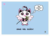 Ganz viel Glück! by Beware of the Kitten...