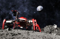 Moon explorer von Milan Soukup