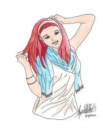 Ariana Grande by Elizabeth Budlong