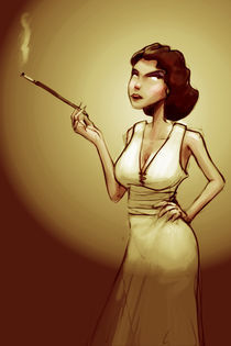Fumeuse by Tony Draws
