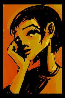 thinker by Tony Draws