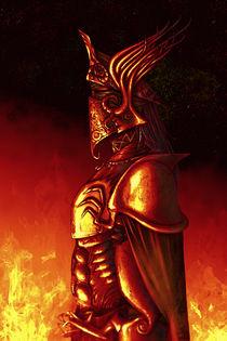 Red knight by Tony Draws