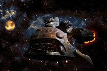 space fish-ship von Tony Draws