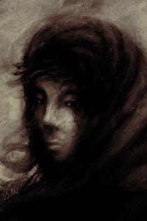 portrait of a woman von Tony Draws