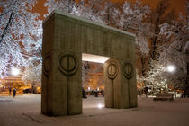 The Gate of Kiss von Sorin Golumbeanu