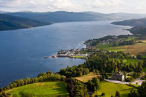 Inveraray town by Martin Kubes