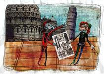 2nd millennium essentials - Pisa tower von Max Grishkan