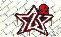 Sly Starr Skull by John Siy
