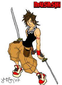 Modern Day Musashi by John Siy
