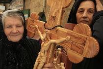 Jerusalem Old City, Easter, Good Friday at the Via Dolorosa by Hanan Isachar