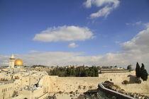 Jerusalem Old City, a view of Temple Mount