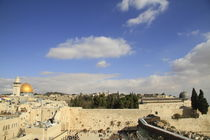 Jerusalem Old City, a view of Temple Mount von Hanan Isachar