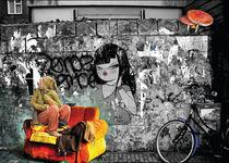 Amsterdam street life von Julie Aleksovska