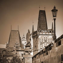 Sepia Prag von Chris R. Hasenbichler