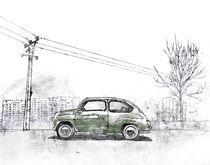 Green car by Mike Godwin
