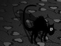 Scared cat von Daniela Encinas