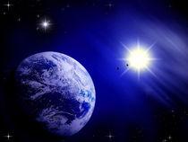 Sonne und Erde. von Bernd Vagt
