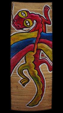 Rainbow Red Dragon by Max Grishkan