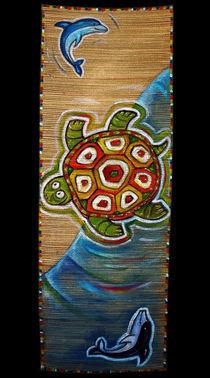 Yin Yang Turtle von Max Grishkan