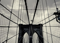 Brooklyn Bridge Cable Web by Simon Shehata