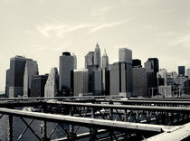 Manhattan from the bridge von Simon Shehata