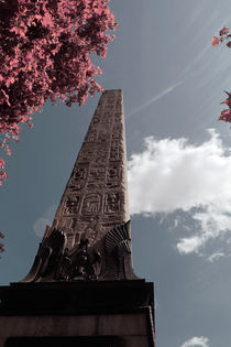 Egyptian Obelisk in London by Simon Shehata