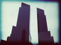 Twin towers still stand by Simon Shehata