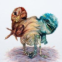 Birdcage Twinsies by Rachel Meuler