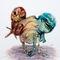 Birdcage-twinsies