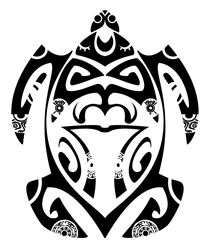 Maori turtle by William Rossin
