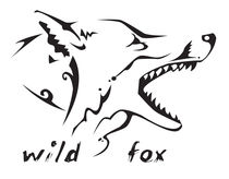 Tribal tattoo wild fox von William Rossin
