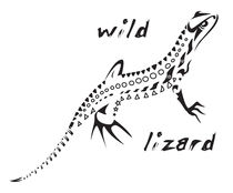 Wild lizard von William Rossin