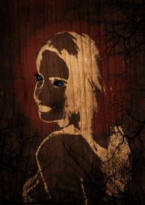 Wooden Silhouette by rebecca-salome