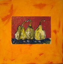 Birnen abstrakt by Ka Wegner